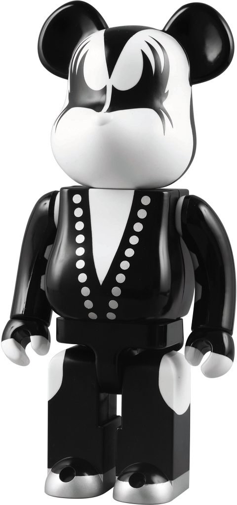 Medicom Toy The Demon - KISS Be@rbrick Plastic Figure