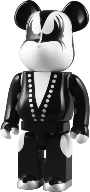 The Demon - KISS Be@rbrick Plastic Figure