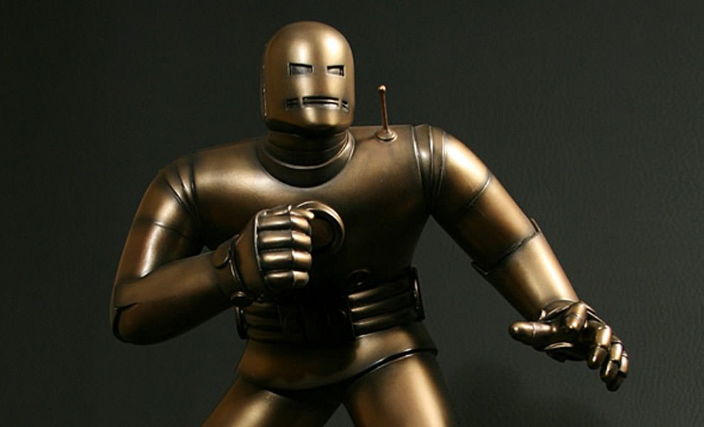 Gallery Feature Image of Original Iron Man Polystone Statue - Click to open image gallery