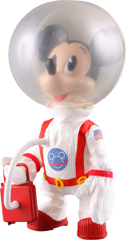 Medicom Toy Mickey Mouse - Astronaut Vinyl Collectible