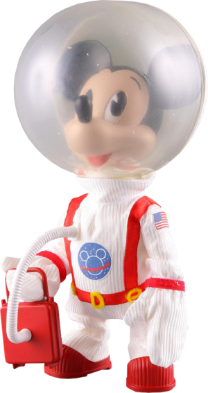 Mickey Mouse - Astronaut Vinyl Collectible