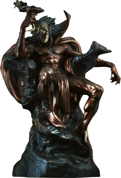 Bowen Designs Mephisto Polystone Statue