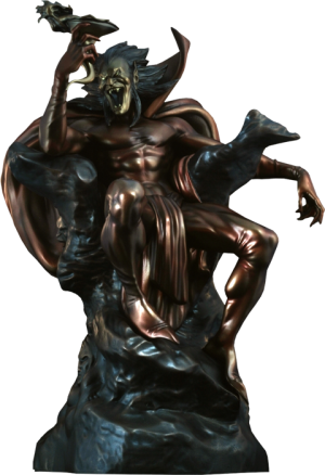 Mephisto Polystone Statue