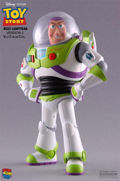 Disney Buzz Lightyear Vinyl Collectible By Medicom Toy
