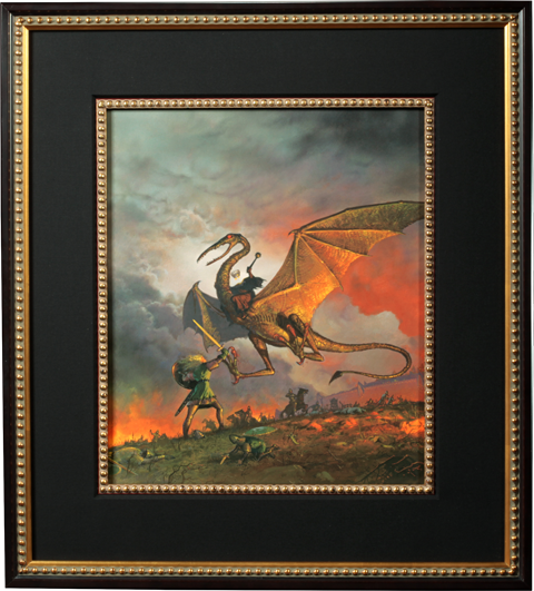 ADC Publications Eowyn and the Nazgul Fine Art Print