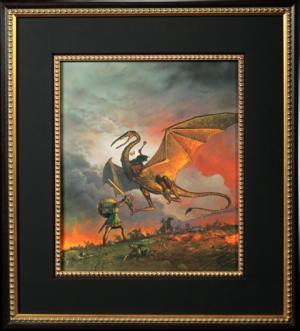 Eowyn and the Nazgul Fine Art Print