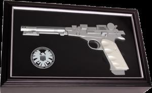 Nick Fury Electronic Needle Gun Prop Replica