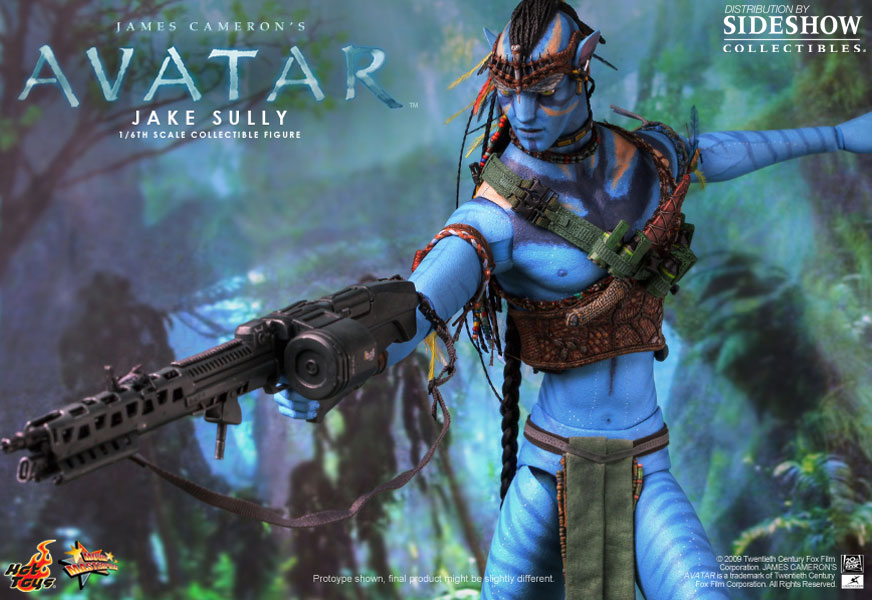 Avatar jake sully sixth scale figure by hot toys sideshow collectibles - Jake sully avatar ...