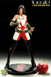 Gallery Image of Kabuki Mixed Media Statue