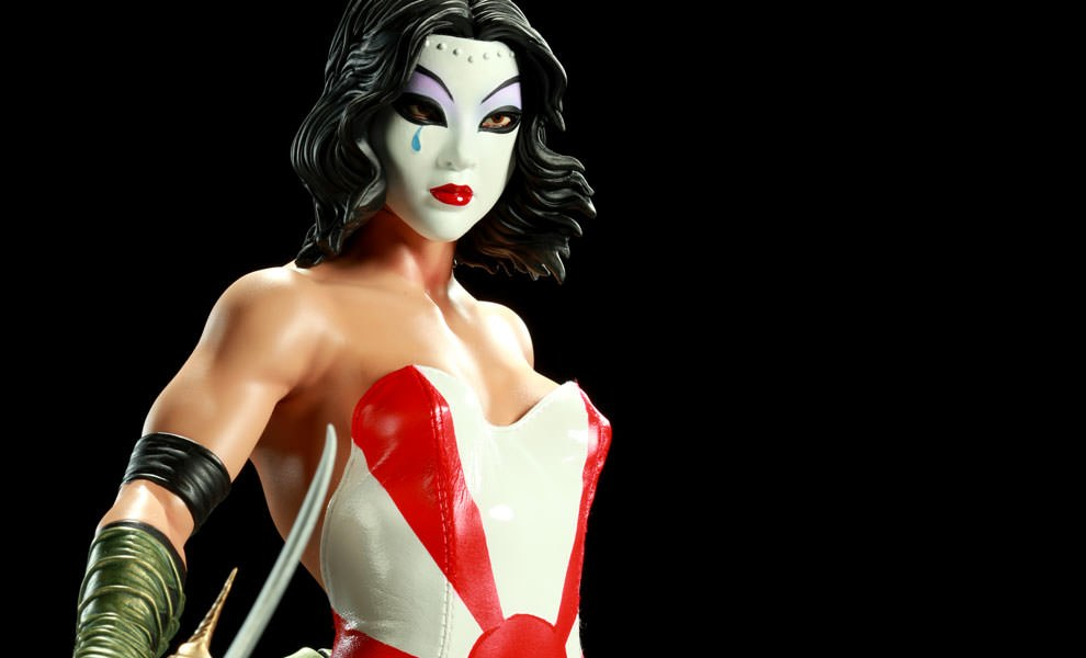 Gallery Feature Image of Kabuki Mixed Media Statue - Click to open image gallery