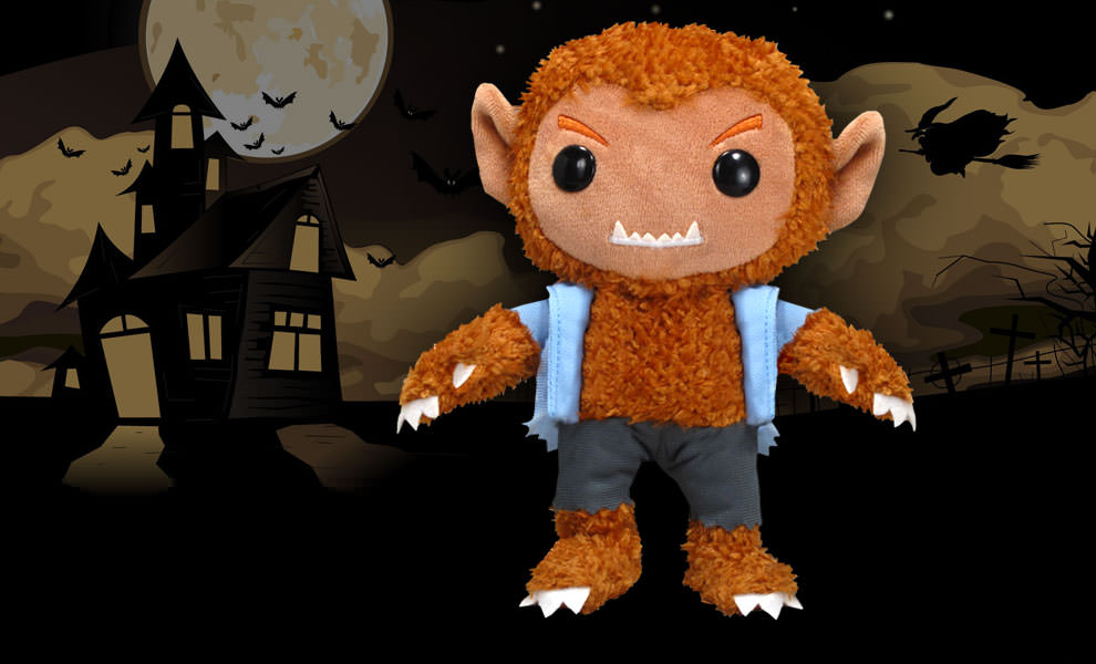Gallery Feature Image of The Wolfman Plush Doll - Click to open image gallery