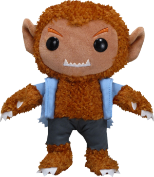The Wolfman Plush Doll