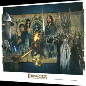 'Fellowship of the Ring' - UNFRAMED Fine Art Print