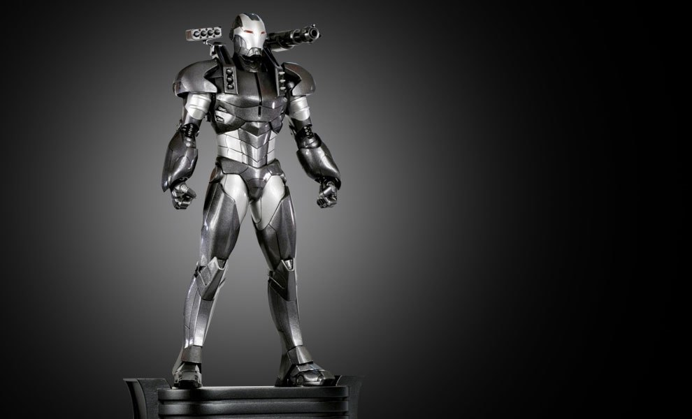Gallery Feature Image of War Machine Modern Polystone Statue - Click to open image gallery