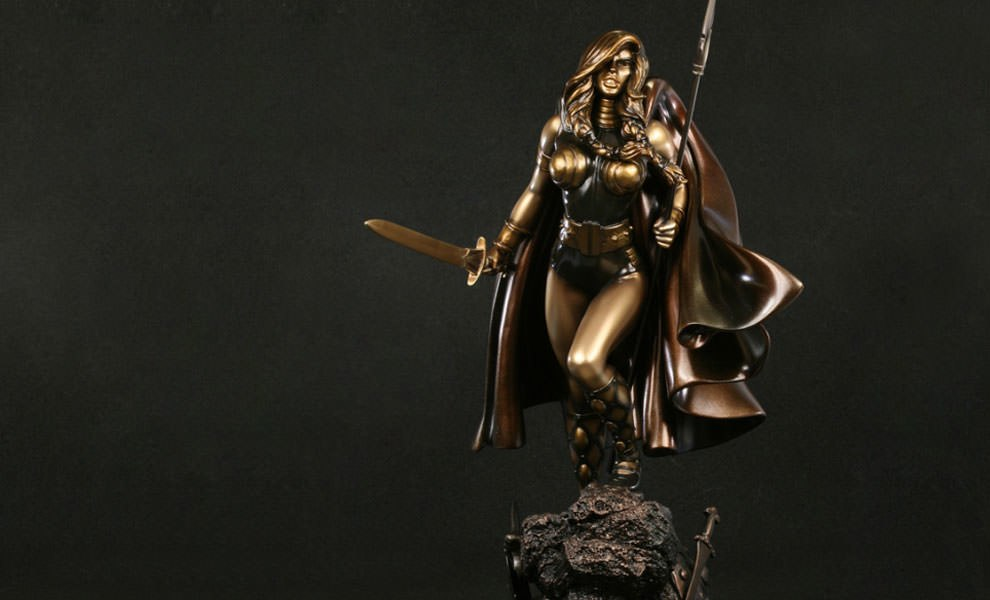 Gallery Feature Image of Valkyrie Polystone Statue - Click to open image gallery