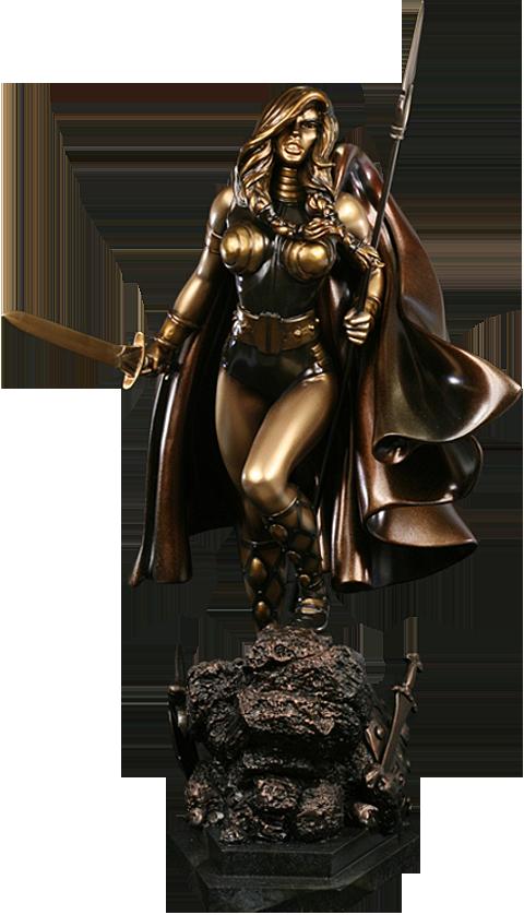 Bowen Designs Valkyrie Polystone Statue