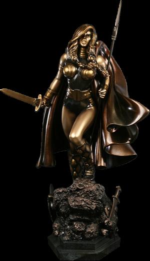 Valkyrie Polystone Statue