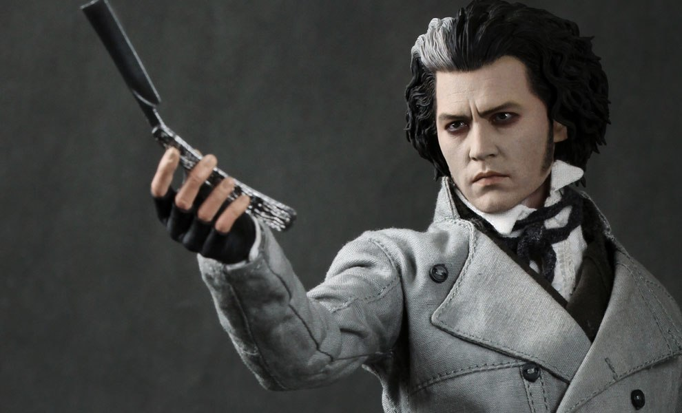 Gallery Feature Image of Sweeney Todd Sixth Scale Figure - Click to open image gallery