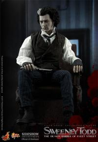 Gallery Image of Sweeney Todd Sixth Scale Figure