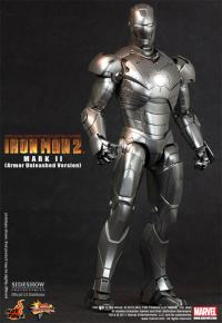 Gallery Image of Iron Man Mark II - Armor Unleashed Version Sixth Scale Figure