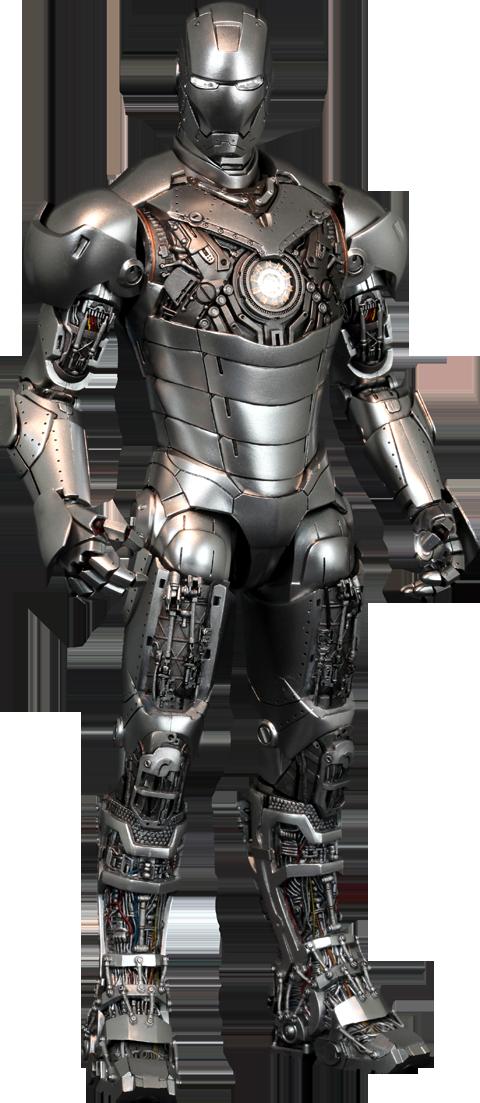 Hot Toys Iron Man Mark II - Armor Unleashed Version Sixth Scale Figure