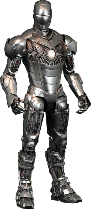 Iron Man Mark II - Armor Unleashed Version Sixth Scale Figure