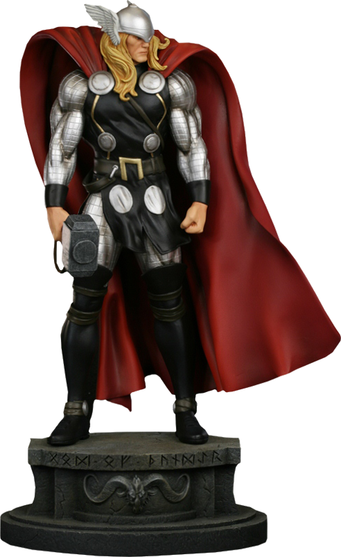 Bowen Designs Thor Modern Museum Polystone Statue