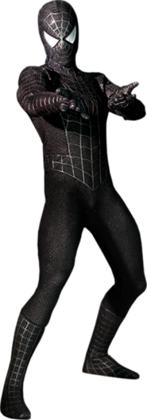Spider-Man Black Suit Version Sixth Scale Figure