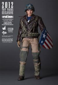 Gallery Image of Captain America - Rescue Version Sixth Scale Figure