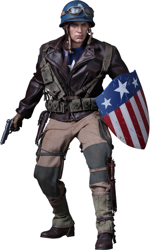 Hot Toys Captain America - Rescue Version Sixth Scale Figure