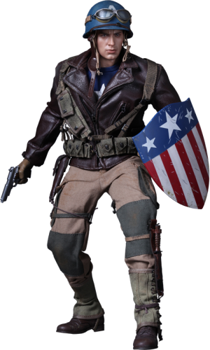 Captain America - Rescue Version Sixth Scale Figure