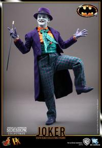 Gallery Image of The Joker (1989 Version) DX Series Sixth Scale Figure
