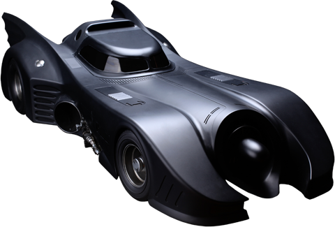 Hot Toys Batmobile (1989 Version) Sixth Scale Figure Accessory