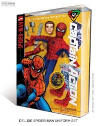 Gallery Image of Captain Action Spider-Man Deluxe Costume Set Collectible Figure
