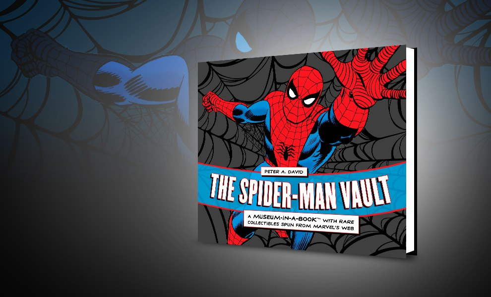 Gallery Feature Image of The Spider-Man Vault Book - Click to open image gallery