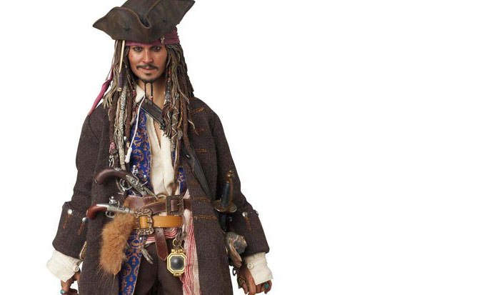 Gallery Feature Image of Jack Sparrow Sixth Scale Figure - Click to open image gallery