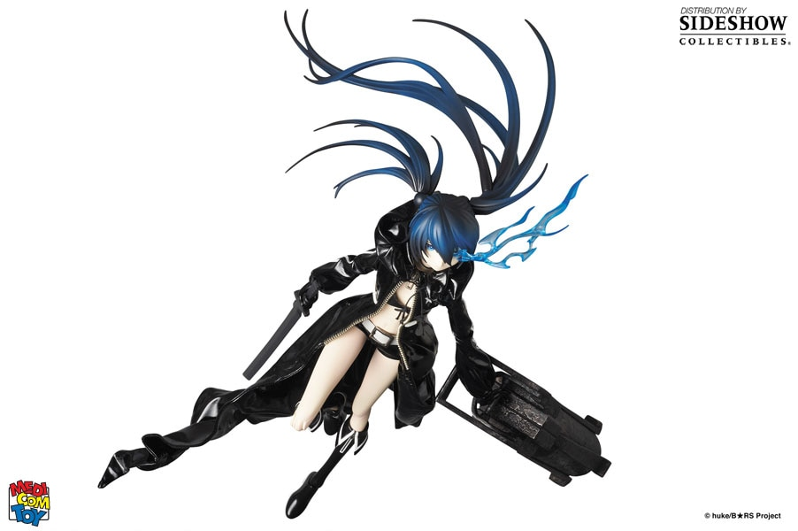 Black Rock Shooter Anime Canvas Print 20*30 Inch HUGE !