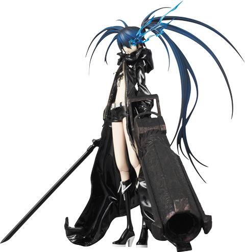 Medicom Toy Black Rock Shooter Sixth Scale Figure