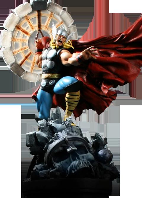 Bowen Designs Thor Polystone Statue