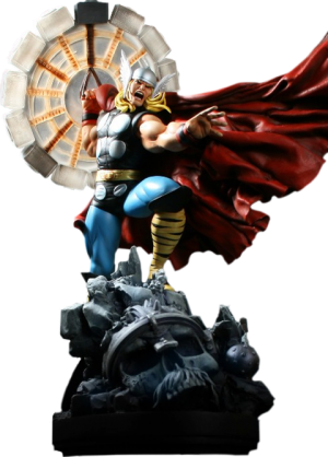 Thor Polystone Statue