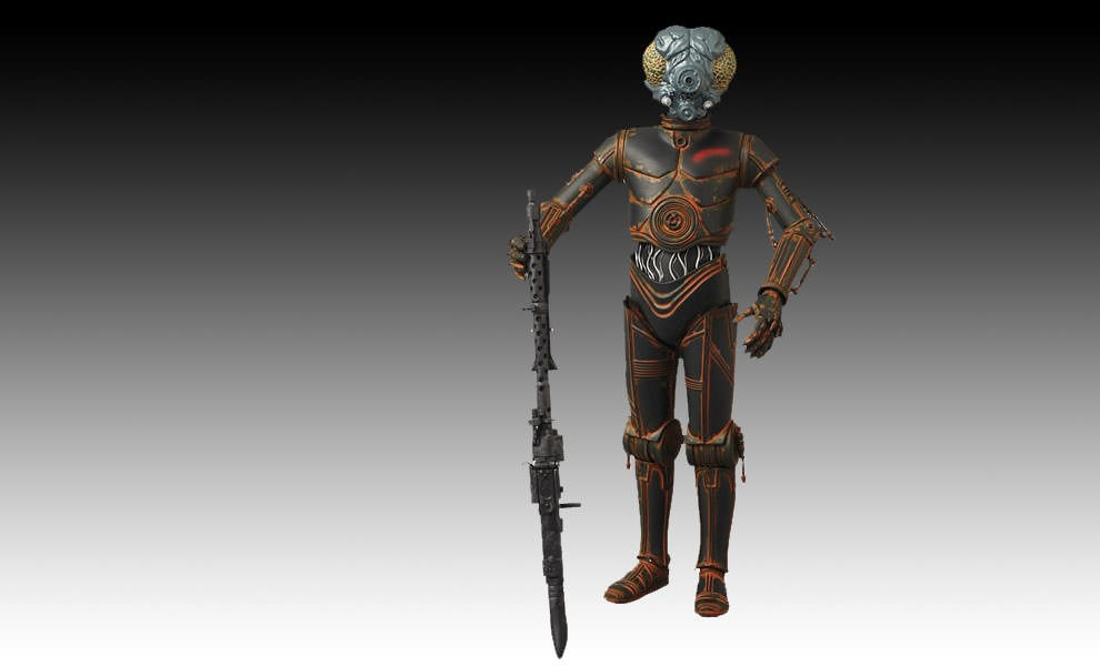 Gallery Feature Image of 4-LOM Sixth Scale Figure - Click to open image gallery