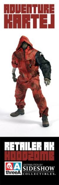 Gallery Image of Hoodzomb (Red) Sixth Scale Figure
