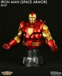 Gallery Image of Iron Man Space Armor Polystone Bust