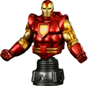 Iron Man Space Armor Polystone Bust