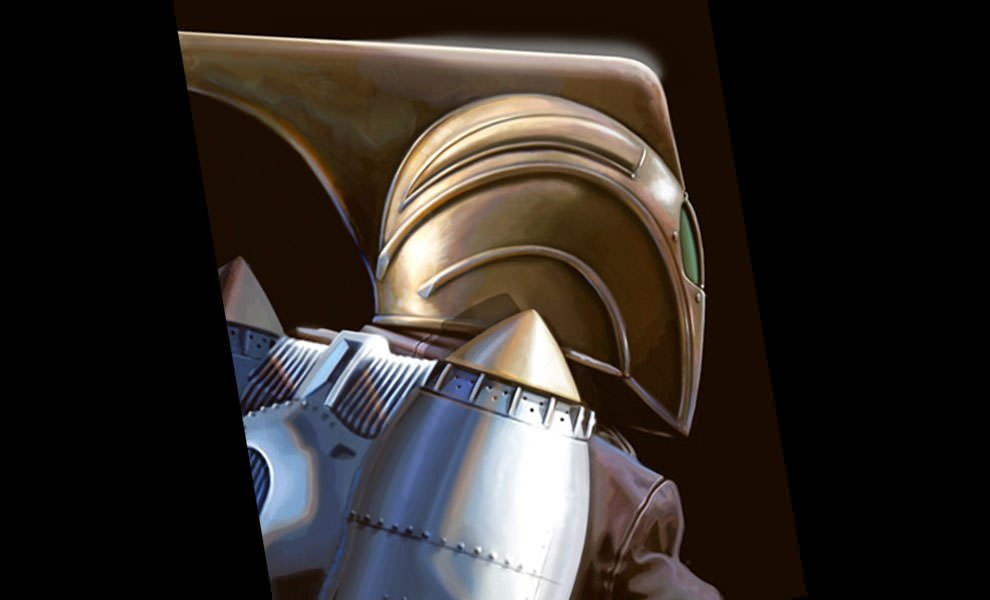 Gallery Feature Image of Rocketeer by Brian Rood Fine Art Print - Click to open image gallery