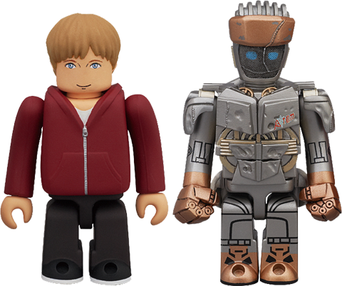 Medicom Toy Atom & Max Plastic Figure