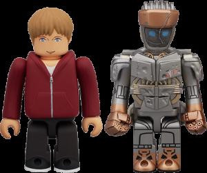 Atom & Max Plastic Figure