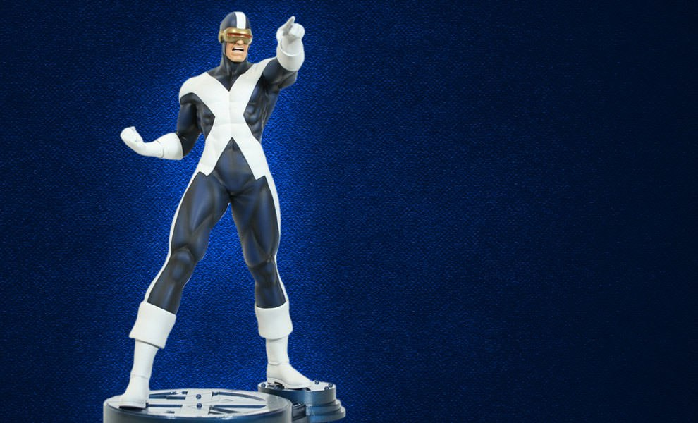Gallery Feature Image of Cyclops X-Factor Polystone Statue - Click to open image gallery