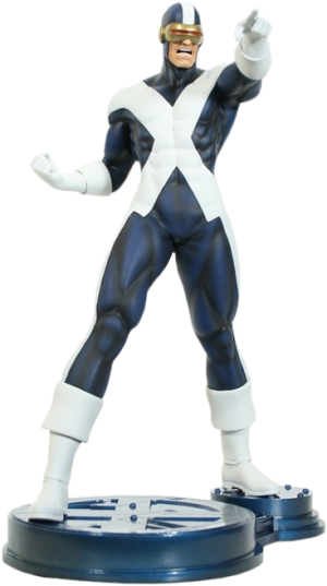 Cyclops X-Factor Polystone Statue