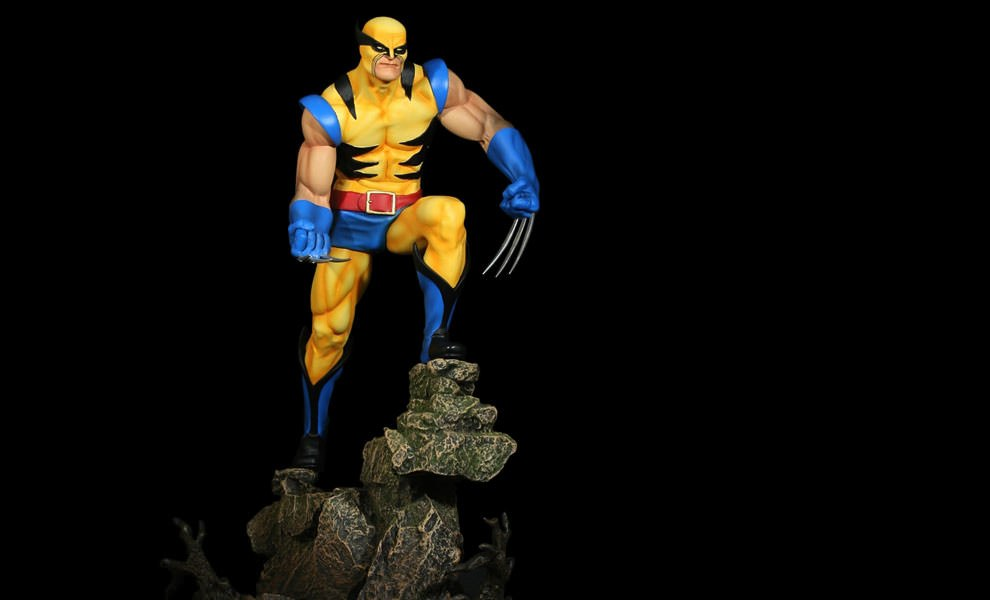 Gallery Feature Image of Wolverine Original Polystone Statue - Click to open image gallery